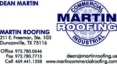Martin Roofing Business